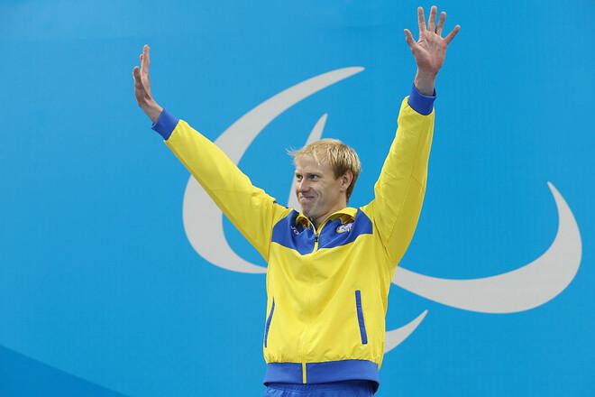 Плавание. Украинец Веракса стал вице-чемпионом Паралимпиады