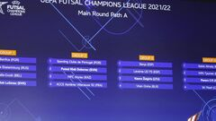 Лига чемпионов по футзалу. Ураган узнал соперников в основном раунде