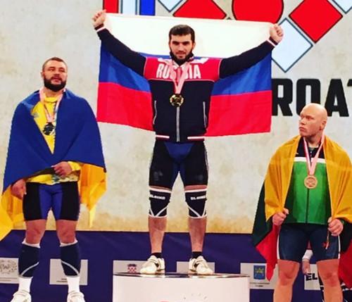 Украинец стал чемпионом Европы из-за дисквалификации россиянина за допинг