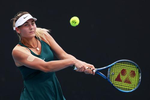Марта Костюк проиграла седьмой сеяной на турнире в Мельбурне