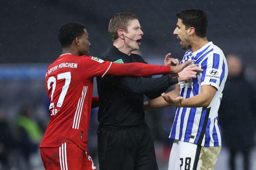 Перед клубным ЧМ Бавария выиграла у Герты и упрочила лидерство в Бундеслиге