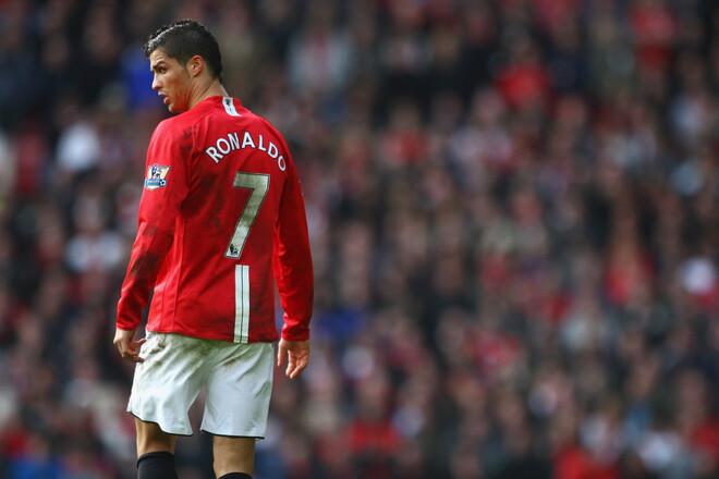 Стало известно, под каким номером будет играть Роналду в Ман Юнайтед