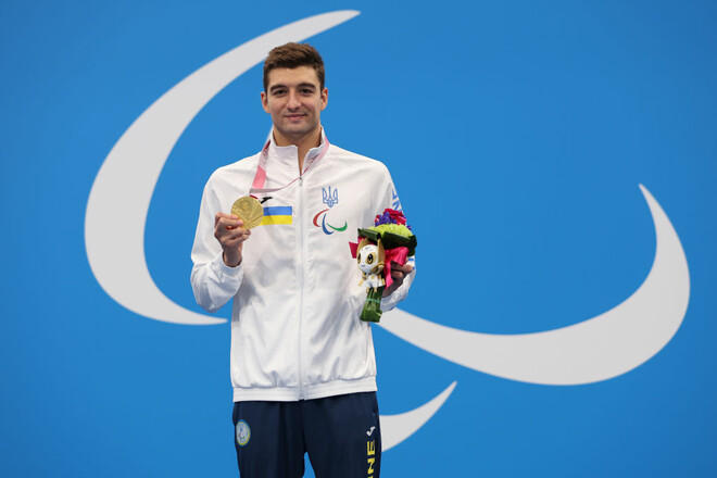 Пловец Крипак выиграл третье золото на Паралимпиаде в Токио