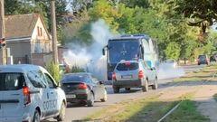 ВИДЕО. Игрок Черноморца рассказал об атаке ультрас на клубный автобус
