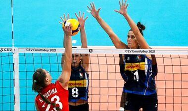В полуфинал женского Евро пробились Италия и Сербия