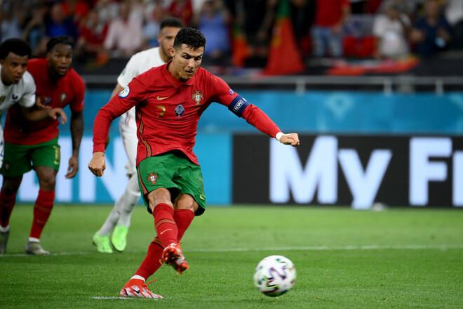ВИДЕО. Как Роналду не забил пенальти в ворота сборной Ирландии