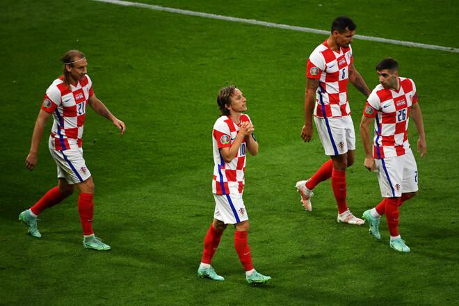 Группа H. Россия и Хорватия разошлись миром в матче квалификации ЧМ