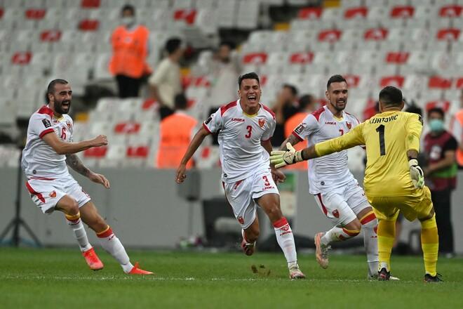 Турция – Черногория – 2:2. Гости спаслись на 90+7 мин. Видео голов и обзор