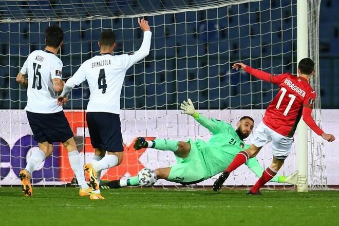 Италия – Болгария. Прогноз и анонс на матч квалификации ЧМ-2022