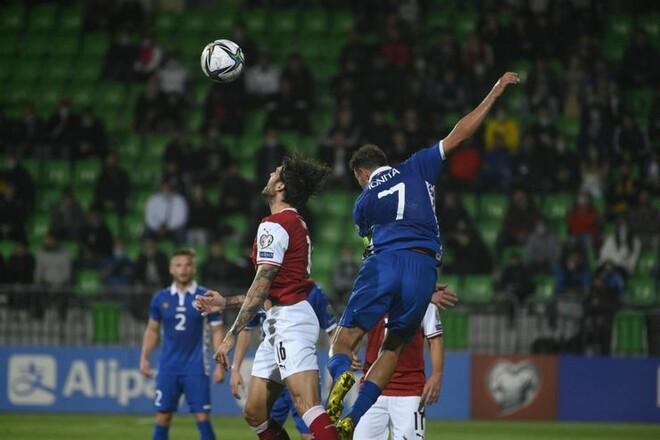 Молдова — Австрия — 0:2. Видео голов и обзор матча