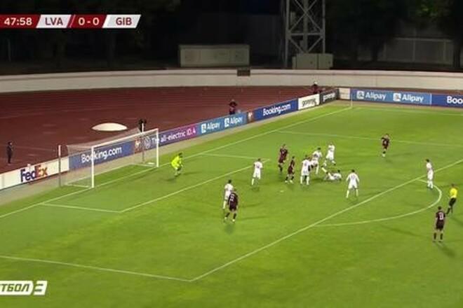 Латвия – Гибралтар – 3:1. Гол Цыганикса. Видео голов и обзор матча