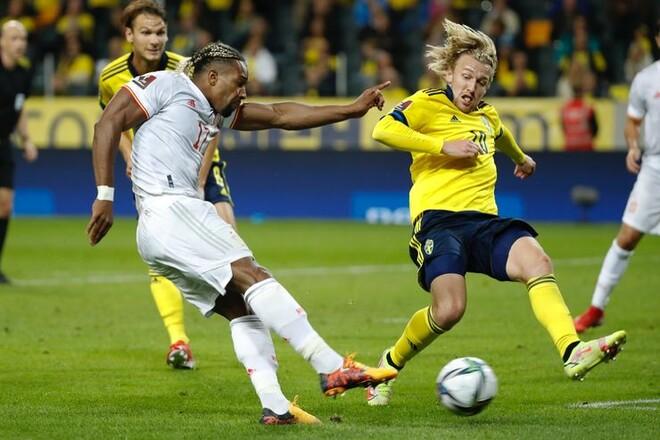 Смена лидера группы. Швеция неожиданно обыграла Испанию