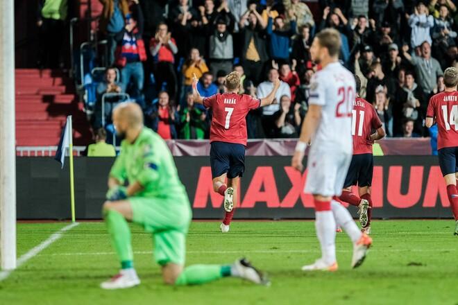 Чехия – Беларусь – 1:0. Видео гола и обзор матча