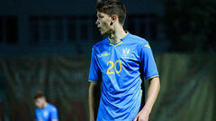 Даниил Сикан вошел в десятку самых молодых бомбардиров сборной Украины
