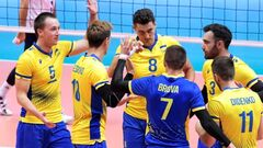 Украина добыла первую победу на мужском чемпионате Европы