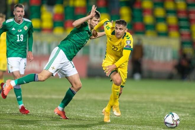 Литва – Северная Ирландия – 1:4. Видео голов и обзор матча