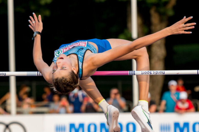 Магучих прыгнула на 2.02 м и выиграла этап Бриллиантовой лиги