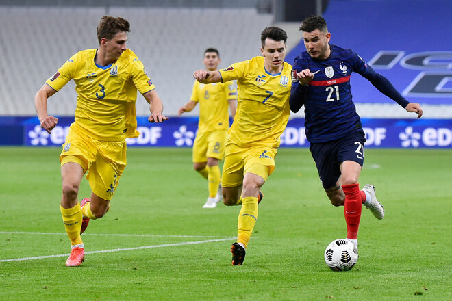 Украина –  Франция – 1:1. Текстовая трансляция матча