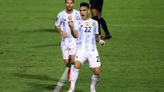 Аргентина уверенно победила Венесуэлу