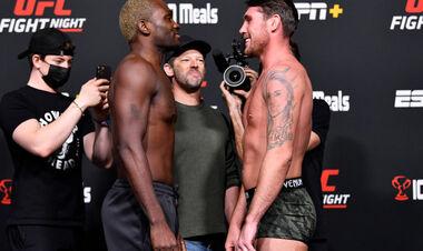 UFC: Дерек Брансон – Даррен Тилл. Смотреть онлайн. LIVE трансляция