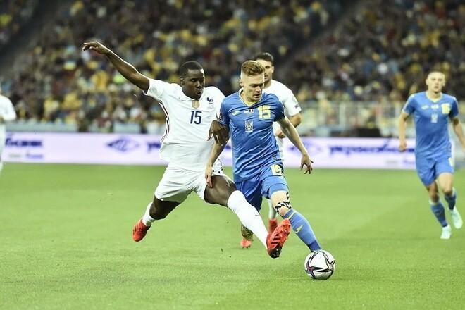 И снова 1:1. Украина в тяжелом матче поделила очки с Францией