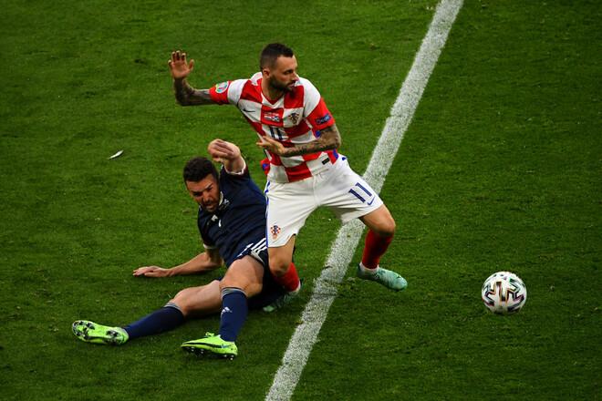 Группа H. Хорватия благодаря голу на 86-й минуте обыграла Словакию
