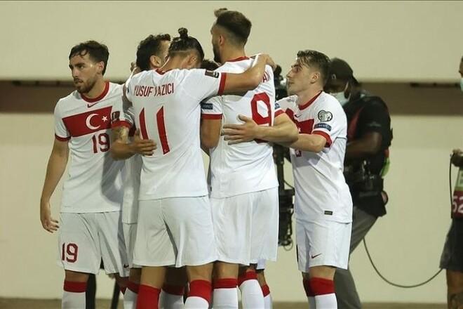 Гибралтар — Турция — 0:3. Видео голов и обзор матча