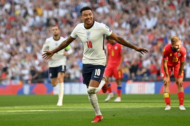 Матчи квалификации ЧМ. Англия забила 4 гола Андорре, дубль Лингарда