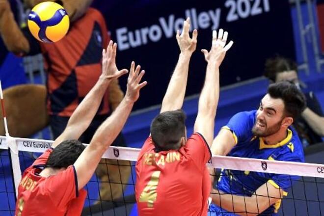 Украина победила Португалию в своем третьем матче мужского Евро