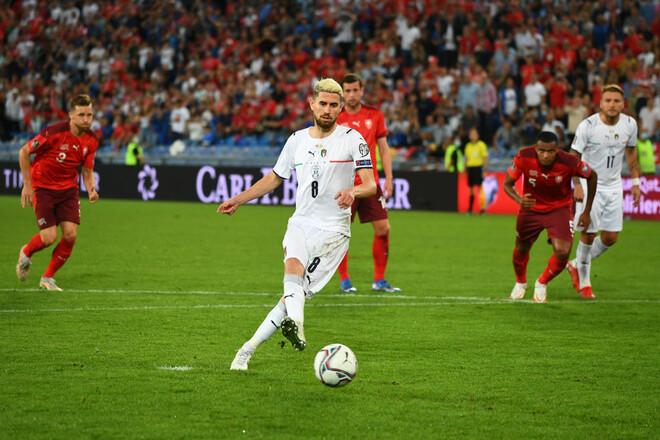 Швейцария – Италия – 0:0. Как Жоржиньо не забил пенальти. Видеообзор матча