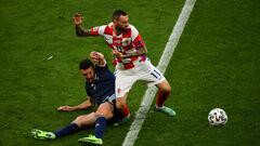 Група H. Хорватія завдяки голу на 86-й хвилині обіграла Словаччину