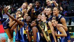 Женская сборная Италии стала чемпионом Европы по волейболу