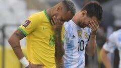 Гра в Бразилії не буде відновлена. Офіційна заява КОНМЕБОЛ