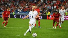 Швейцарія – Італія – 0:0. Як Жоржиньо не забив пенальті. Відеоогляд матчу