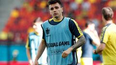 Николай Шапаренко открыл голевой счет за сборную Украины