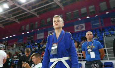 В Запорожье состоялся детский чемпионат по бразильскому джиу-джитсу