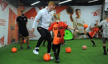 В Борисполе состоялось открытие Shakhtar Football School