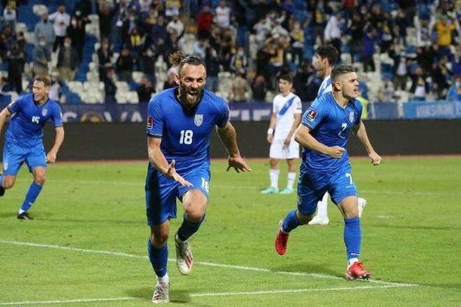 Косово – Греция – 1:1. Чудесное спасение хозяев. Видео голов и обзор матча