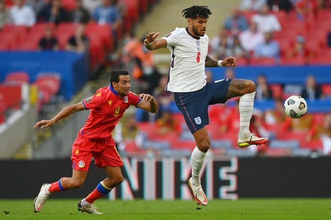 Англия – Андорра – 4:0. Разгром карлика. Видео голов и обзор матча