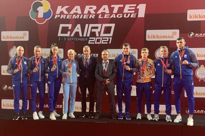 Украинские каратисты завоевали 8 медалей на соревнованиях в Каире
