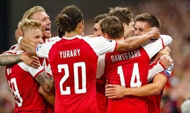 Дания — Израиль — 5:0. Видео голов и обзор матча