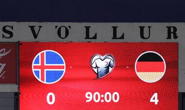 Группа J. Наколотили четыре штуки. Германия разгромила Исландию на выезде