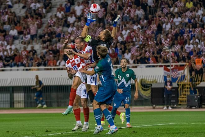 Группа H. Хорватия удержала лидерство, Россия забила два гола Мальте