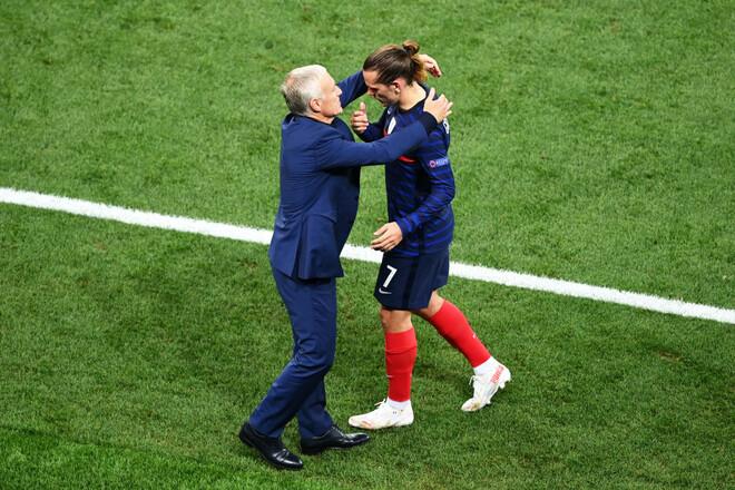 Франция – Финляндия – 2:0. Дубль Гризманна. Видео голов и обзор матча