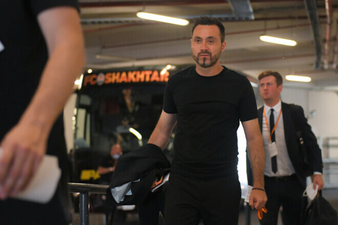 Роберто ДЕ ДЗЕРБИ: «Шериф не подарит Шахтеру 6 очков в Лиге чемпионов»