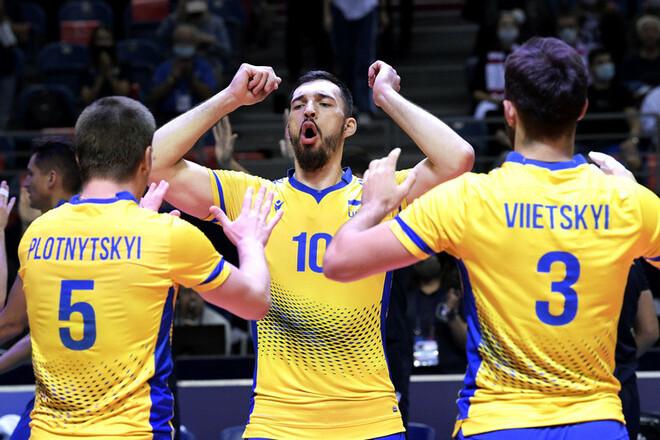 Украина сыграет против России в 1/8 финала Евро-2021 по волейболу