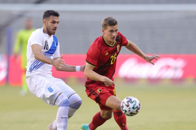 Бельгия скромно обыграла Беларусь, ничья Уэльса