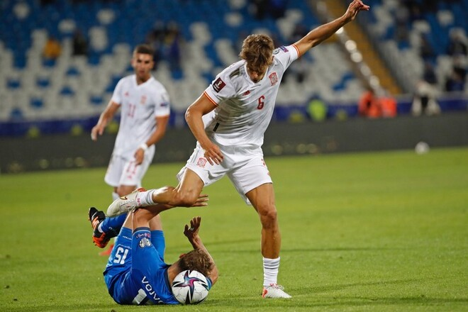 Косово — Испания — 0:2. Видео голов и обзор матча