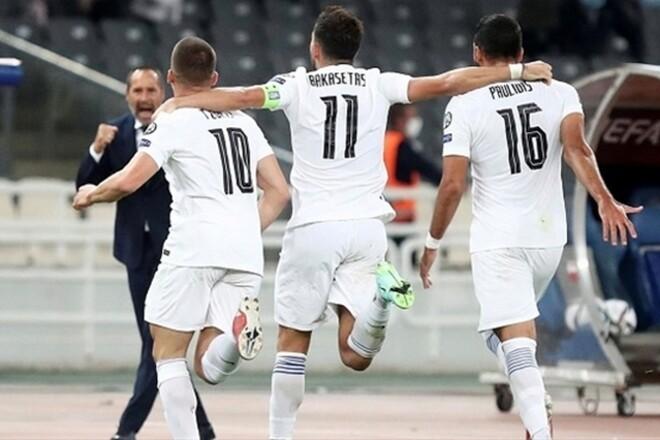 Греция — Швеция — 2:1. Видео голов и обзор матча