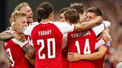 Данія — Ізраїль — 5:0. Відео голів та огляд матчу